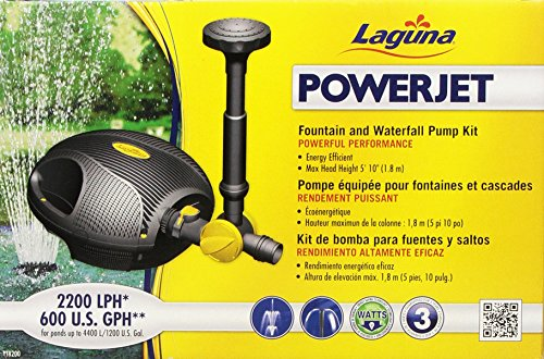 Laguna-PowerJet-600-FountainWaterfall-Pump-Kit-for-Ponds-Up-to-1200-Gallon-0