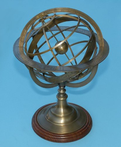 Large-Brass-Demonstrational-Armillary-Sphere-0