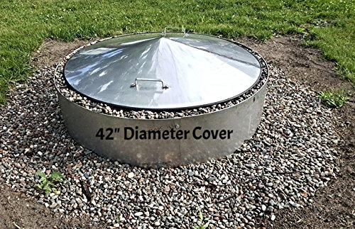 large stainless steel metal pit cover cfire ring