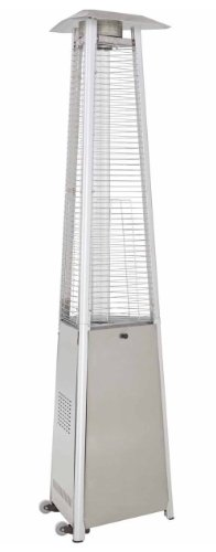 Lava Heat Italia Outdoor Patio Heater Cover Silver