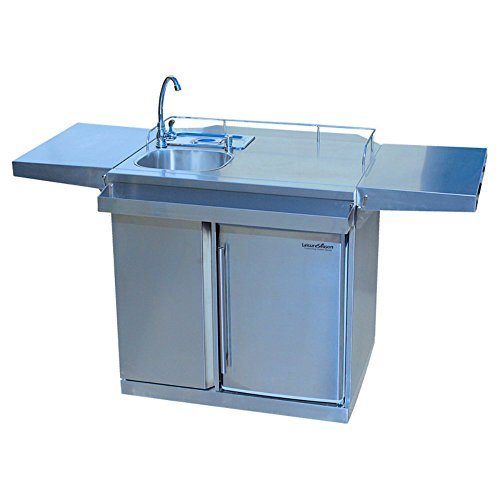 Leisure-Season-Outdoor-Kitchen-Cart-with-Fridge-and-Sink-0