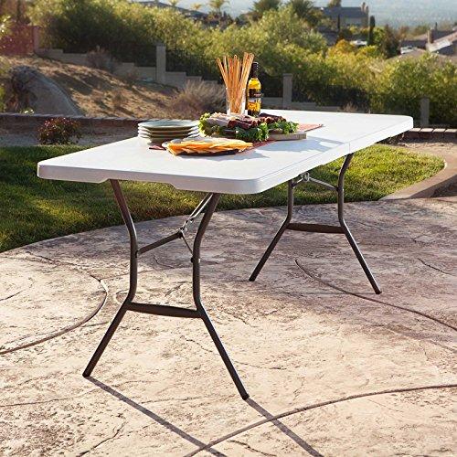 Lifetime-6-ft-Rectangle-Commercial-Fold-In-Half-Table-White-0-0