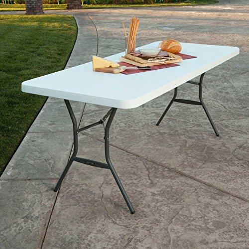 Lifetime-6-ft-Rectangle-Commercial-Fold-In-Half-Table-White-0-1