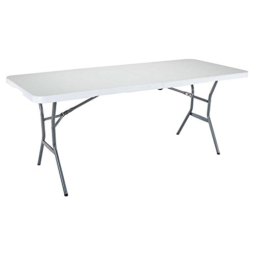 Lifetime-6-ft-Rectangle-Commercial-Fold-In-Half-Table-White-0