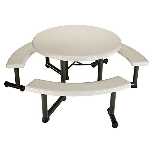 Lifetime Products 44 In Round Picnic Table Farm