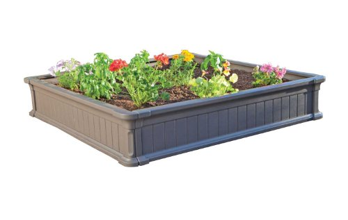 Lifetime-Raised-Garden-Bed-Kit-4-Feet-by-4-Feet-0
