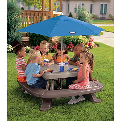 Little-Tikes-Fold-and-Store-Picnic-Table-with-Market-Umbrella-0-1