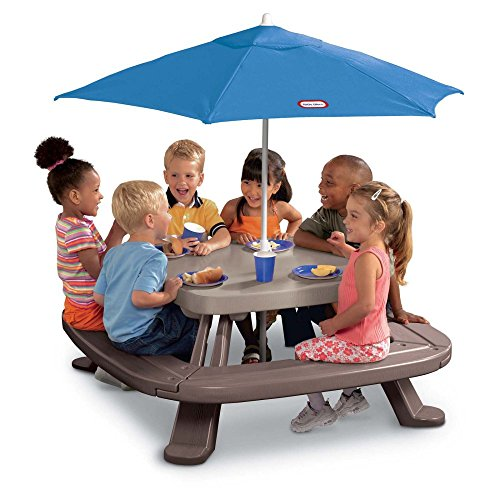 Little-Tikes-Fold-and-Store-Picnic-Table-with-Market-Umbrella-0