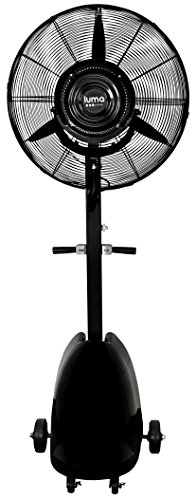 Cooling Off With Fan : Outdoor misting fan ″ mist cooling fans cool off