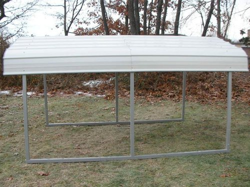 MDM-Rhino-Shelters-All-Steel-Buildings-RV-Steel-Carport-in-Grey-0-0