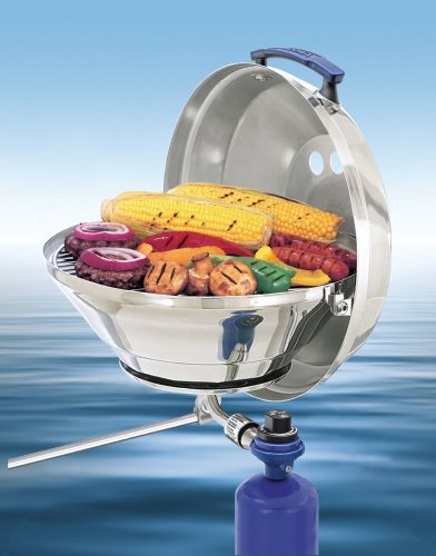 Magma-Marine-Kettle-A10-205-Gas-Grill-Original-Size-15-Inches-Stainless-Steel-Adjustable-Control-Valve-0