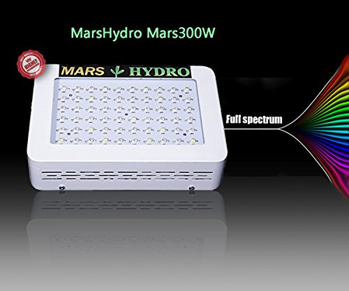 MarsHydro-Mars300-LED-Grow-Light-Full-Spectrum-for-Hydroponic-Indoor-Greenhouse-Garden-Plants-Growing-132W-True-Watt-Panel-0-0