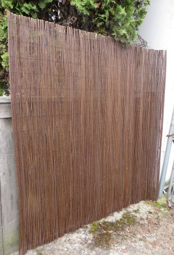 Amazing Master Garden Products Willow Fence Screen 6 By