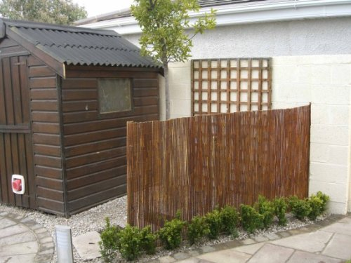 Master Garden Products Willow Fence Screen 6 By