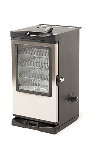 Masterbuilt 20077515 Front Controller Electric Smoker With
