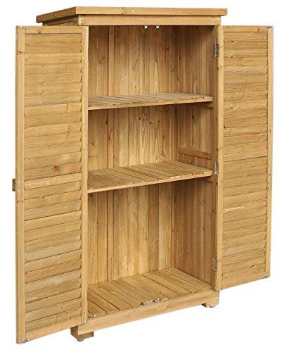 merax wooden garden shed wooden lockers with fir