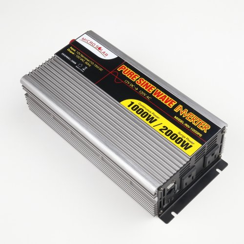 MicroSolar-12V-1000W-Peak-2000W-Pure-Sine-Wave-Inverter-with-Battery-Cable-Remote-Wire-Controller-0-0