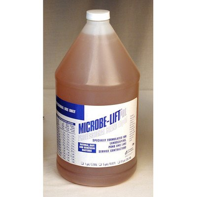 Microbe-Lift-Professional-Blend-Liquid-Gallon-10PBLXG4-Promotes-Healthy-Pond-Fish-Plants-0