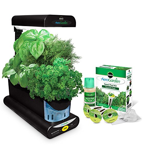 Miracle-Gro-AeroGarden-Sprout-with-Gourmet-Herb-Seed-Pod-Kit-Black-0