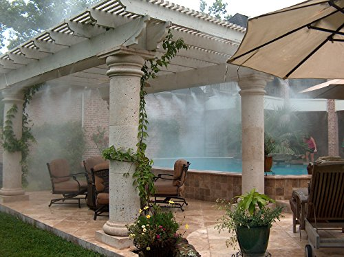 Parts Of A Patio Misting System : Mistcooling system nozzle patio cooling easy to