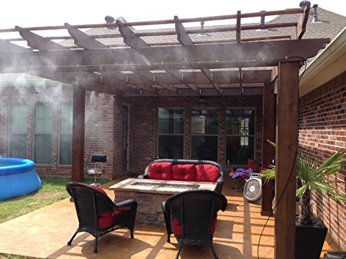 mistcooling system do it yourself patio misting system - Patio Misting System