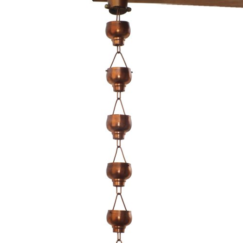 Monarch-Rainchains-Pure-Copper-Hibiki-Rain-Chain-8-12-Feet-0