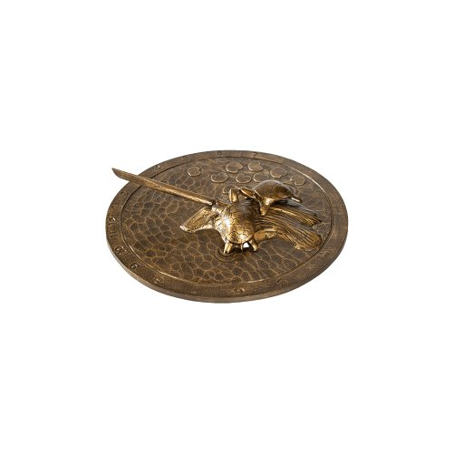 Montague-Metal-Products-Turtle-Sundial-Aged-Bronze-0