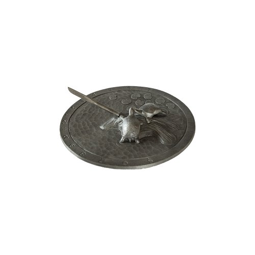 Montague-Metal-Products-Turtle-Sundial-Swedish-Iron-0