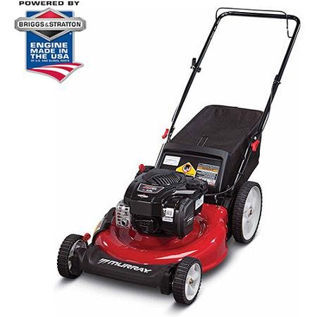 Murray-21-Gas-Push-Lawn-Mower-with-Side-Discharge-Mulching-Rear-Bag-and-Rear-High-Wheel-0