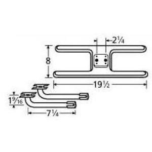 Music-City-Metals-11002-78002-Stainless-Steel-Burner-Replacement-for-Select-MHP-and-PGS-Gas-Grill-Models-0