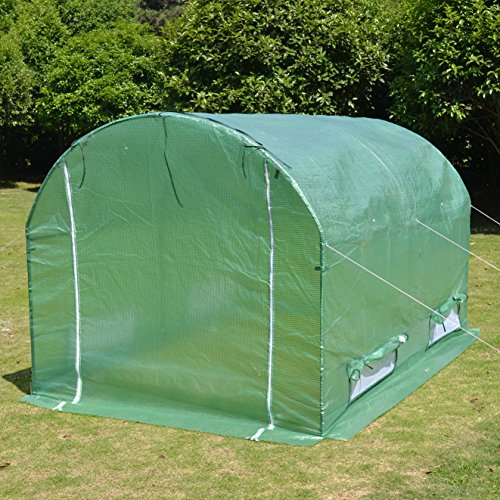 New-BENEFITUSA-Hot-Green-House-10x7x6-Larger-Walk-In-Outdoor-canopy-gazebo-Plant-Gardening-Greenhouse-0-1