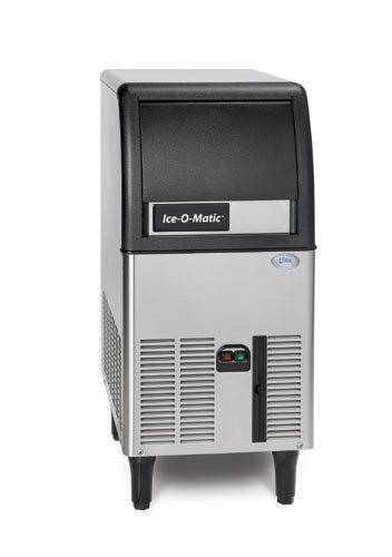 New-Ice-O-Matic-84-lb24-Commercial-Half-Cube-Ice-Maker-Machine-Modular-Head-Air-0