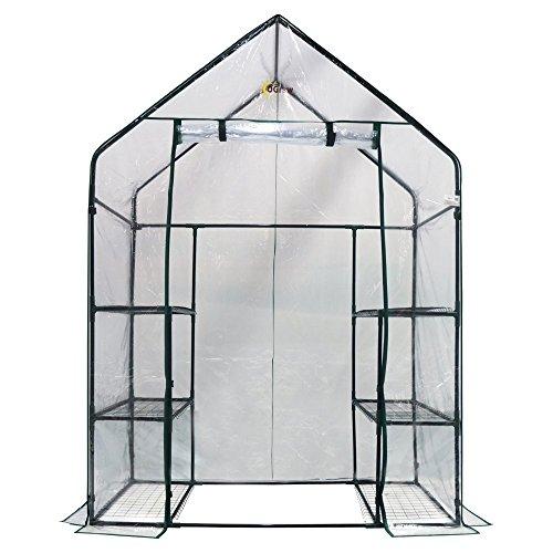 Ogrow-Deluxe-Walk-In-3-Tier-6-Shelf-Portable-Greenhouse-0