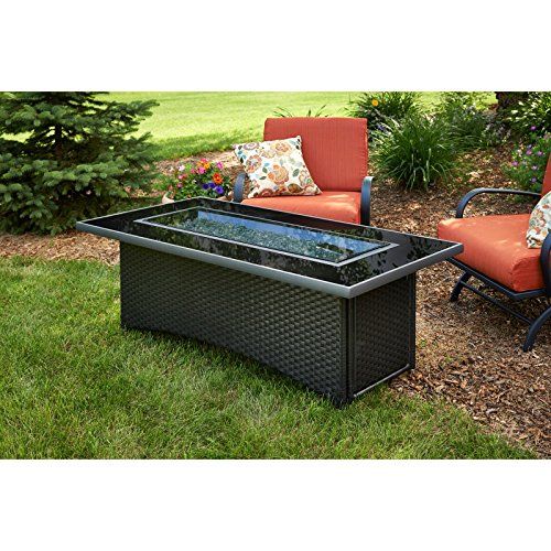 Outdoor-GreatRoom-Montego-Black-Fire-Table-with-Free-Burner-Cover-0-0