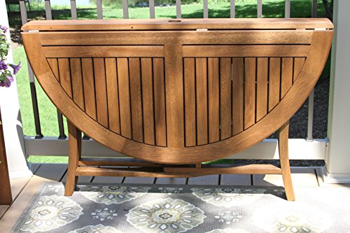 Outdoor-Interiors-Round-Folding-Table-48-Inch-Brown-0-1