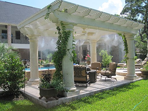 Perfect Outdoor Patio Cooling System Do It Yourself Misting