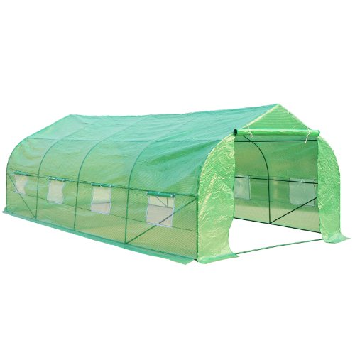 Outsunny-20-x-10-x-7-Portable-Walk-In-Steeple-Garden-Greenhouse-0