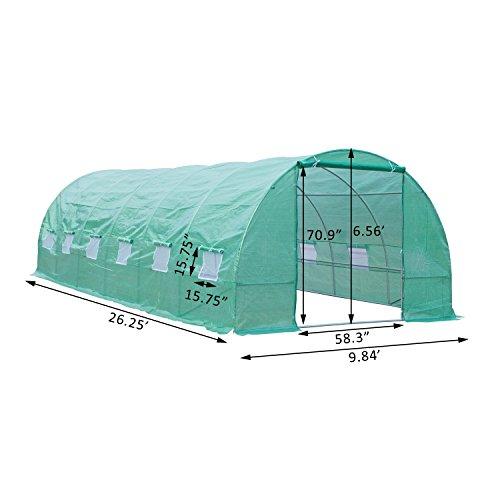 Outsunny-26-x-10-x-7-Portable-Walk-In-Garden-Greenhouse-Deep-Green-0-0