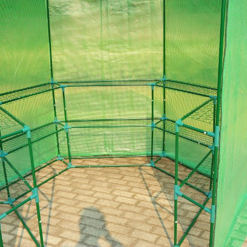 Outsunny-Portable-3-Tier-Shelf-Hexagonal-Walk-In-Greenhouse-75-Feet-0-0