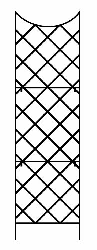 Panacea 89655 Giant Trellis Includes Wall Mounting Brackets 108 Inch Height By 30 Inch Width Black on outdoor fireplace blower