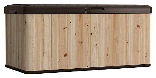 Patio Furniture Deck Box Premium Suncast Outdoor Storage