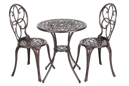 Patio-Sense-3-Piece-Antique-Bronze-Cast-Aluminum-Bistro-Set-0