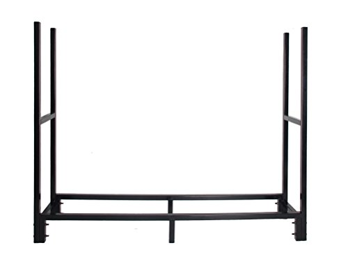 Patio-Watcher-5-Foot-Heavy-Duty-Firewood-Rack-Black-Log-Rack-0