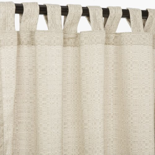 Pawleys-Island-Hammocks-Linen-Silver-Sunbrella-outdoor-curtain-with-tabs-120-long-0