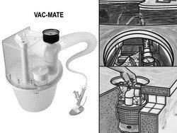 Pentair R211100 Vac Mate Pool Cleaner Dispenser Box Farm