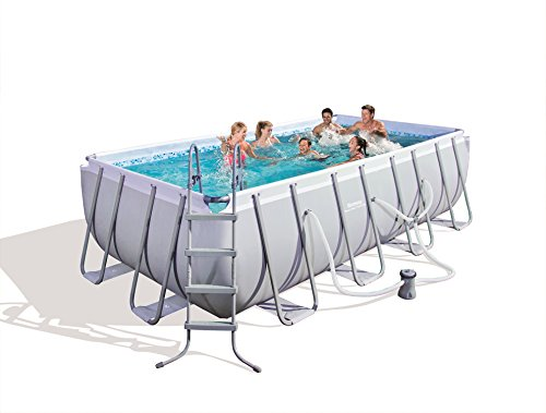 Intex 20′ x 52″ Ultra Frame Above Ground Swimming Pool Set with Sand ...
