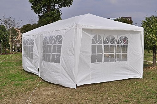 Qisan Canopy Tent Carport 10 X 20 Feet Domain Carport With