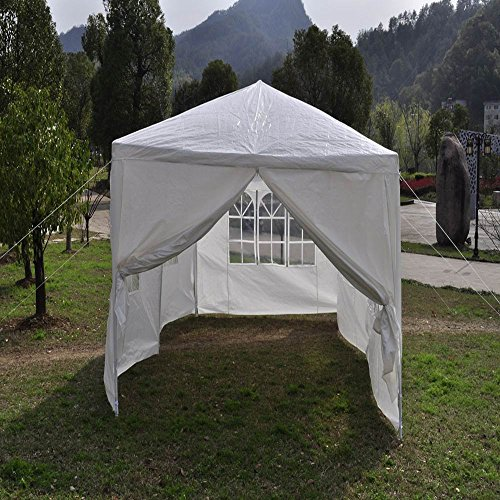 Qisan-Canopy-tent-carport-10-X-20-feet-Domain-Carport-with-sidewalls-white-0-1