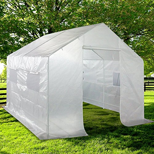 Portable Greenhouse With Heat : Quictent portable greenhouse large green garden hot house