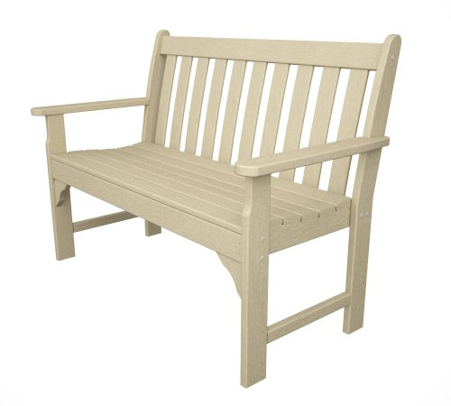 Recycled-Plastic-Vineyard-48-Bench-by-Polywood-Frame-Color-Sand-0